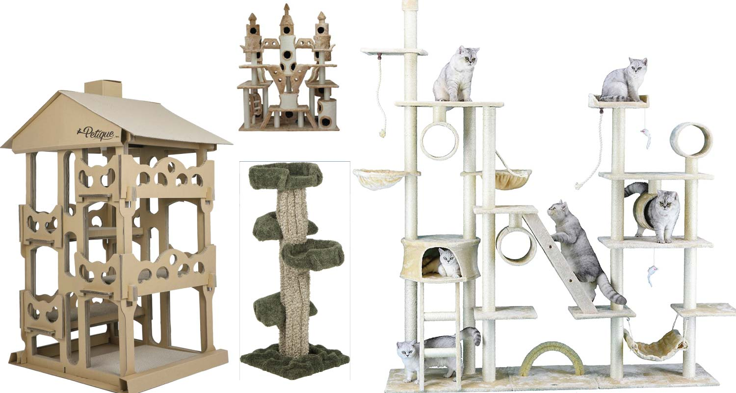 Crazy Cat Trees You Can Buy!
