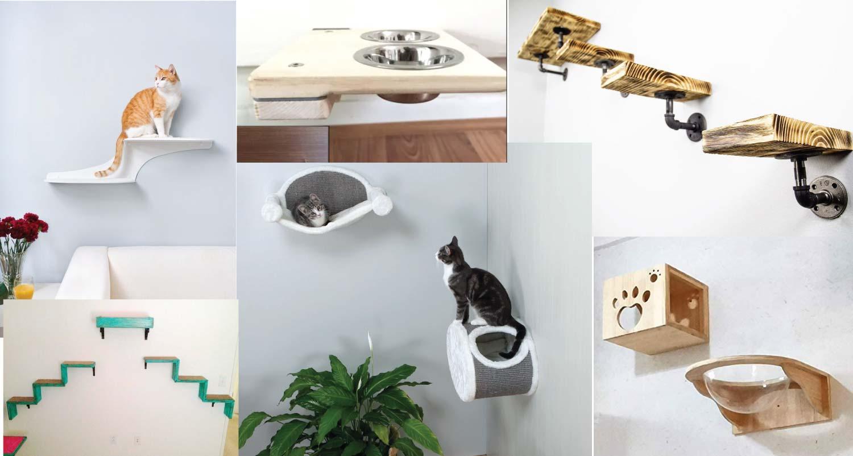Custom Cat Shelves to Satisfy Your Cat