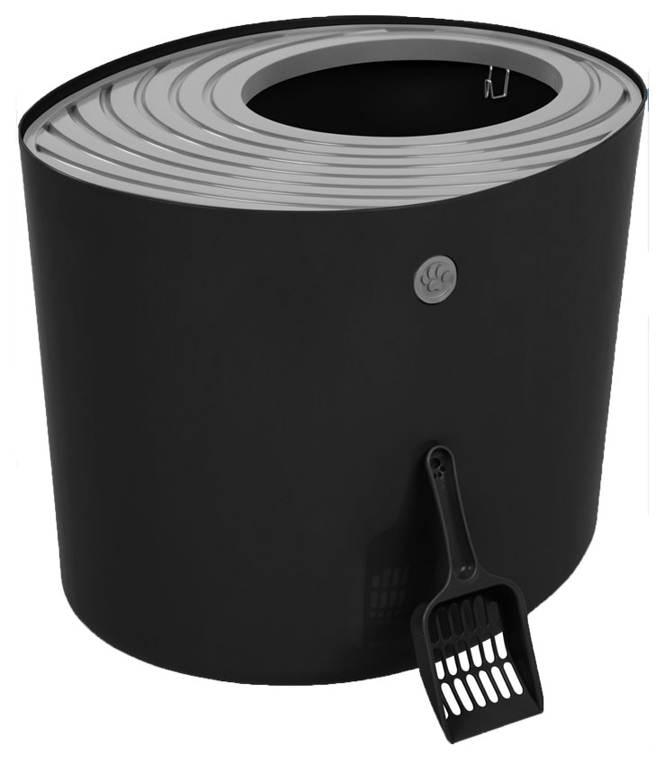 Iris Best Top Entry Litter Box for Cats