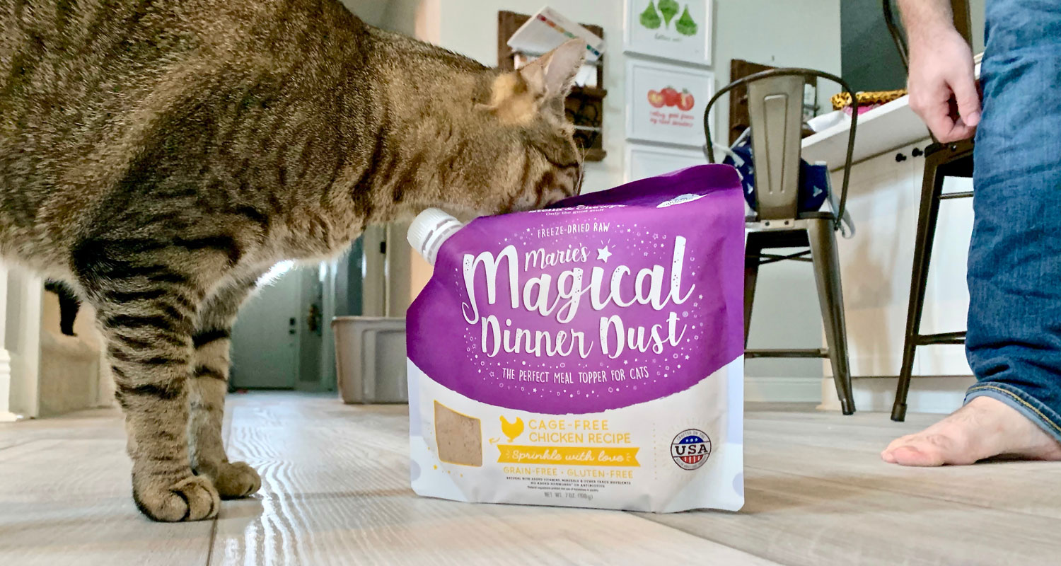 Marie's Magical Dinner Dust for Cats Review